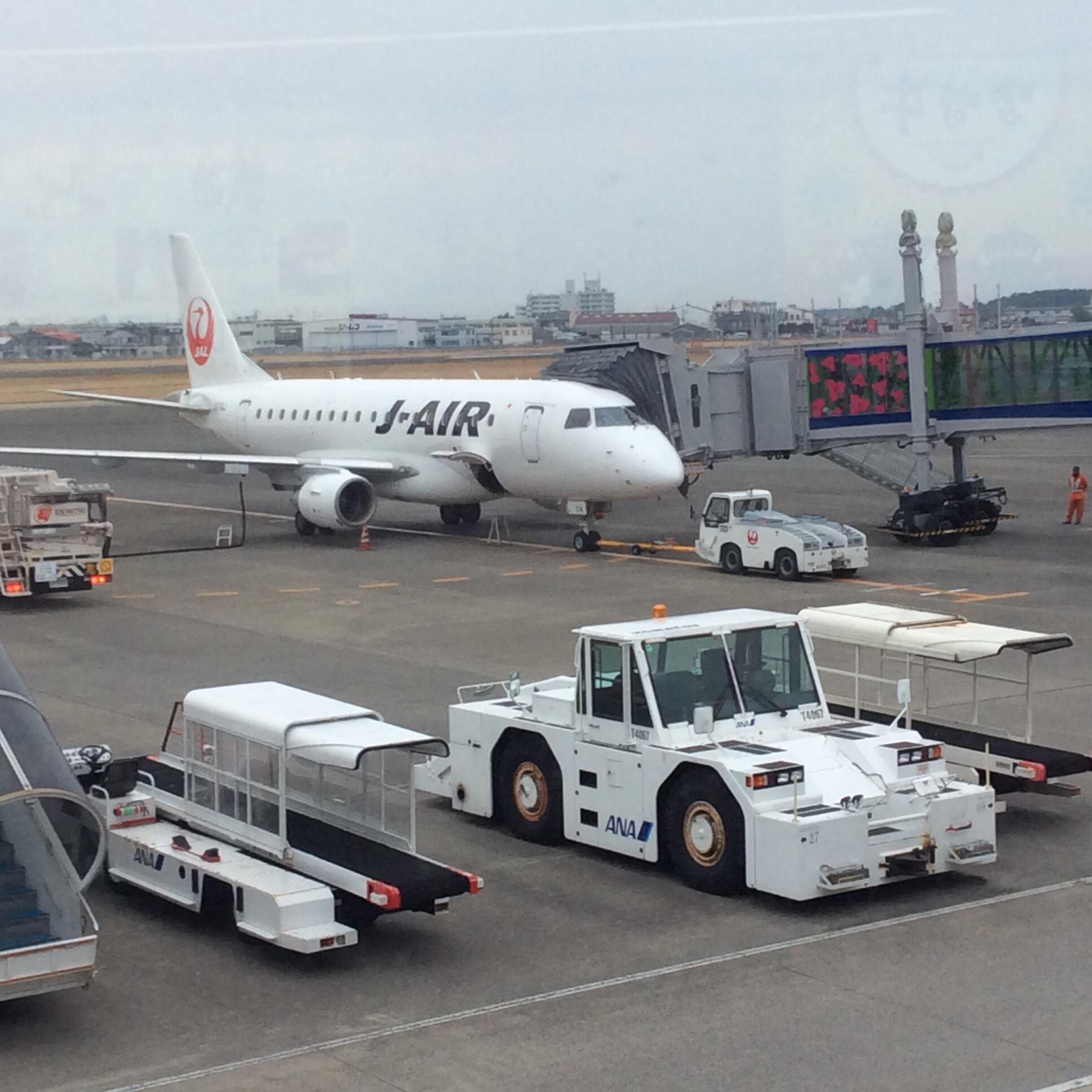 ただ今、宮崎ブーゲンビリア空港