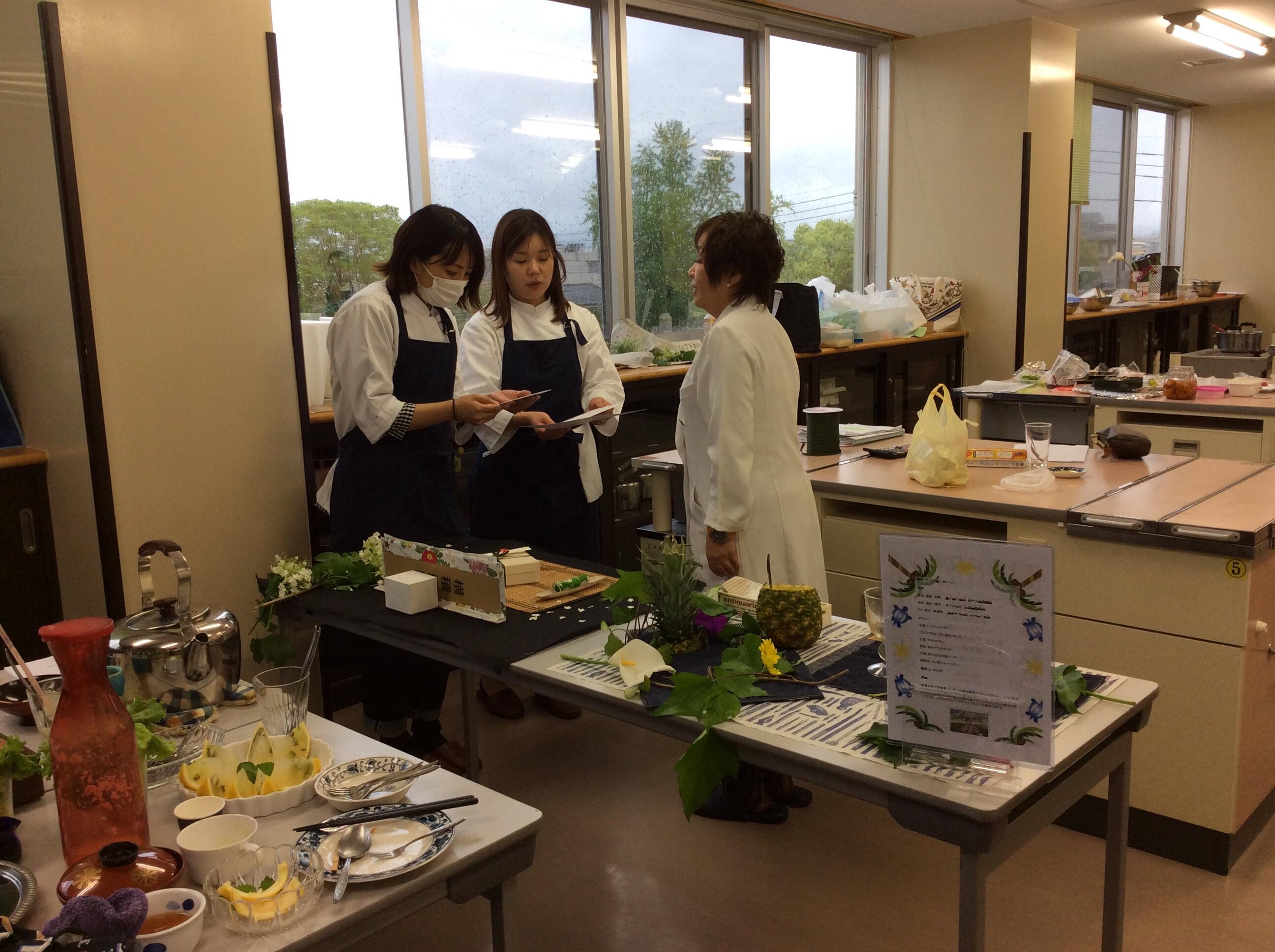 宮崎県公共職業訓練校ライブビジネス校フードビジネス科14期生の最後の授業