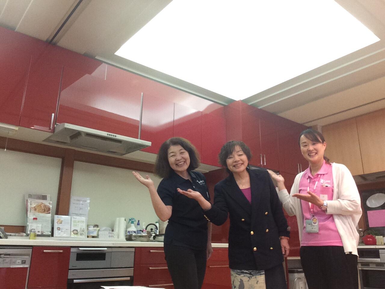 今年の7月から調理実習と栄養学教室開催