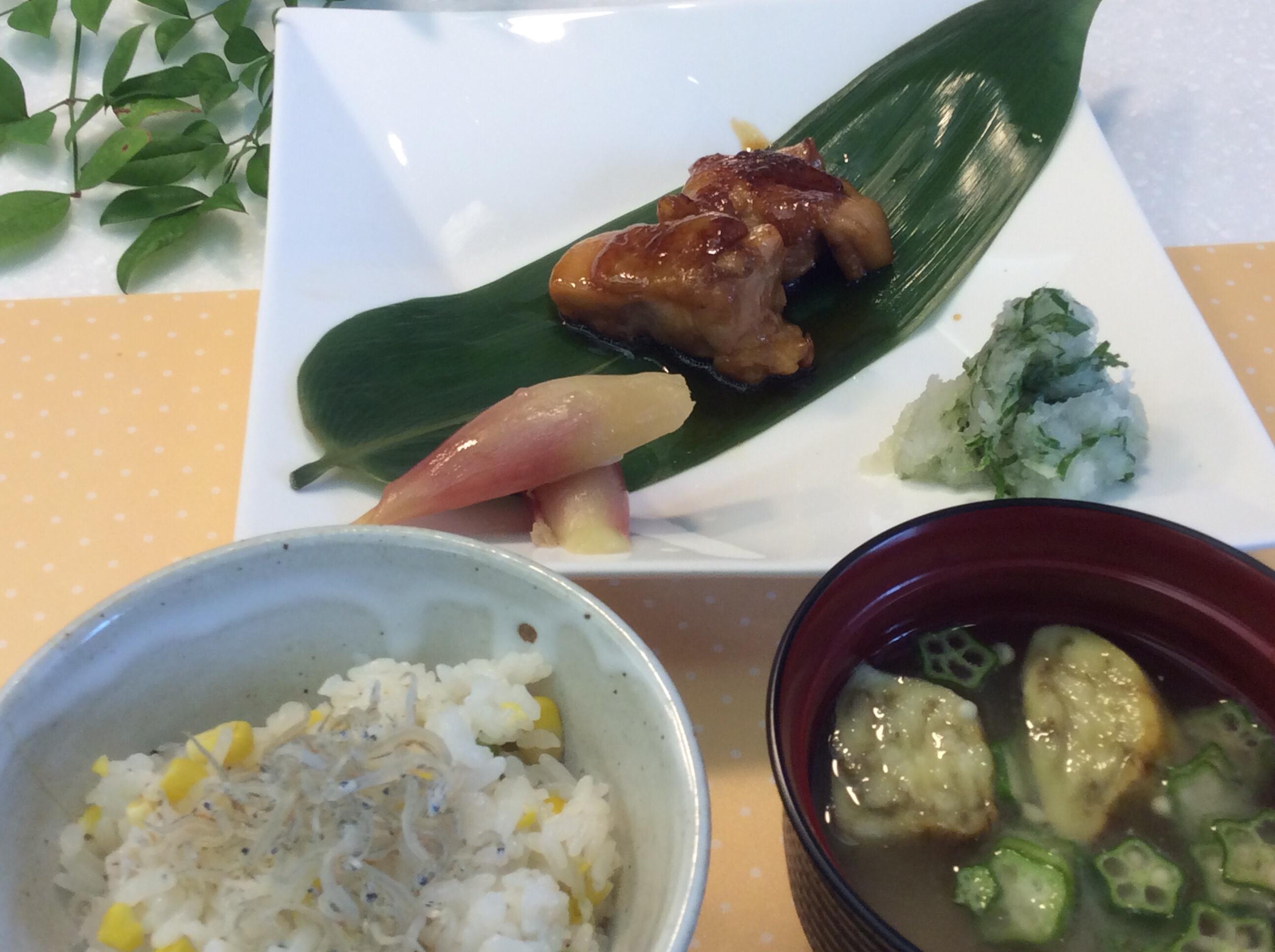 恭子先生の簡単料理教室と食育セミナー