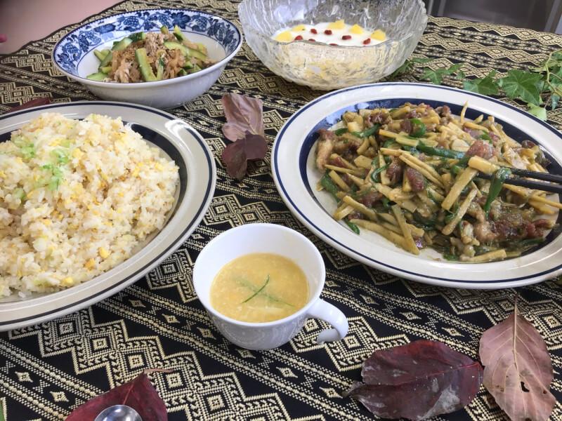 中国料理の授業