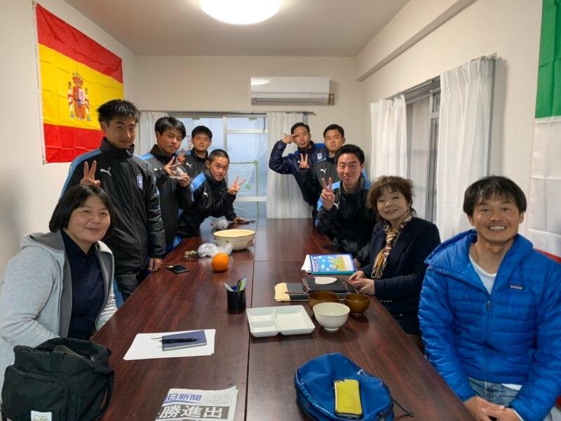 鵬翔高等学校サッカー部合宿所の献立顧問